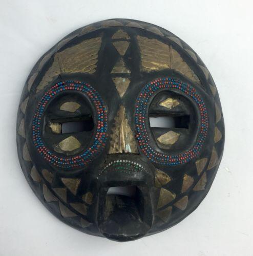 African Handmade Wooden Decor Mask