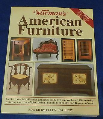 BOOK WARMANS AMERICAN FURNITURE SCHROY 2000