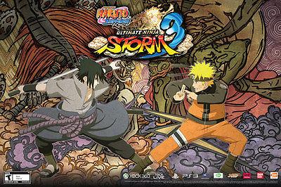 Naruto Shippuden Ultimate Ninja Storm 3 Poster