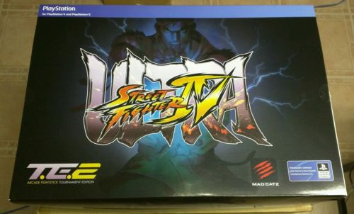 Mad Catz Ultra Street Fighter IV Arcade FightStick TE2 Sony Playstation PS4 PS3