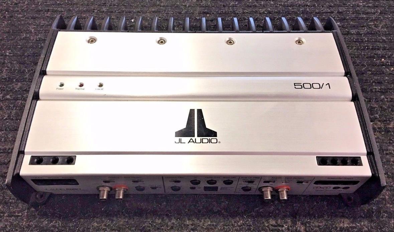 JL Audio 500/1 car amplifier