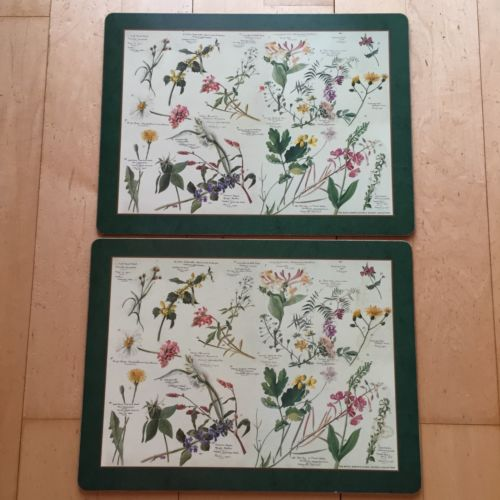 Pimpernel Cork Placemats Royal Horticultural Society Collections Set Of 2