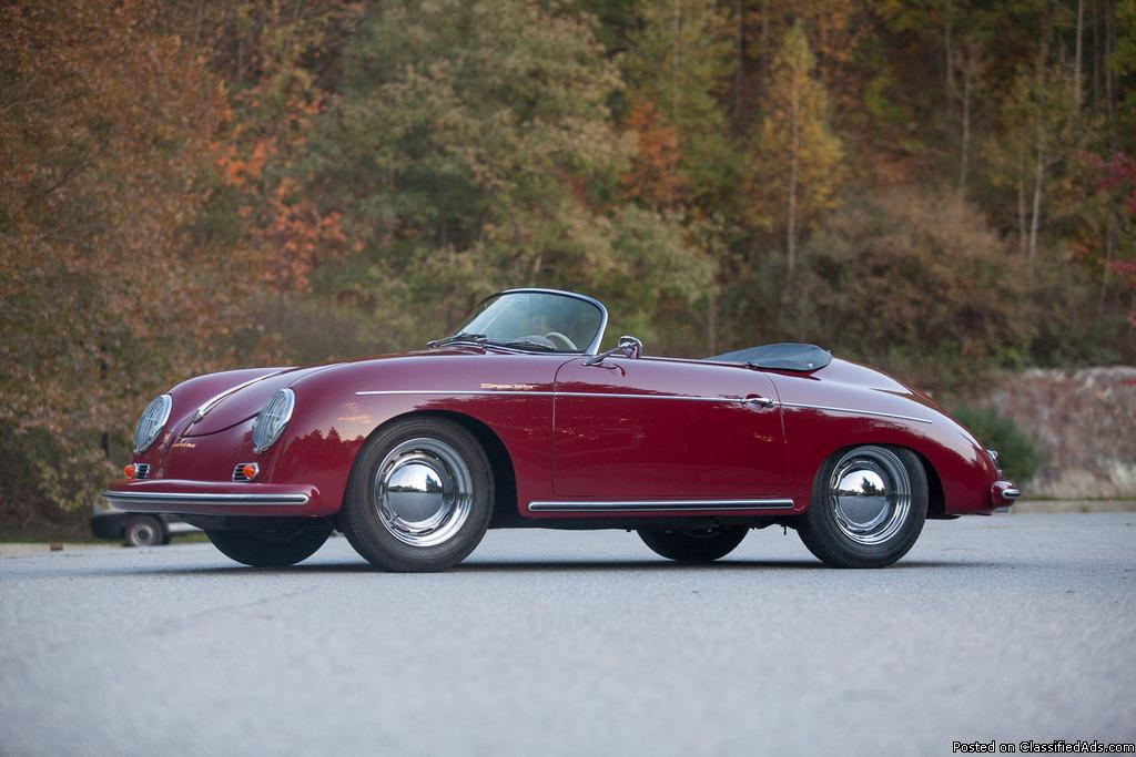 1958 Porsche 356 Speedster Original Colors