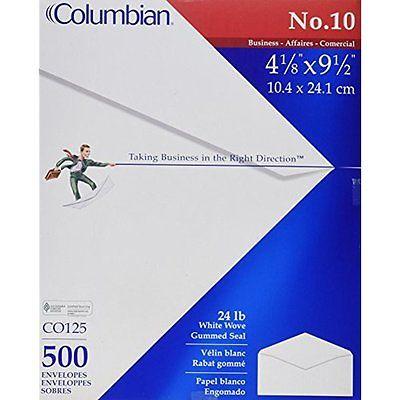 Columbian Business Envelopes 10 Envelopes, Gummed Seal, Executive Business, x