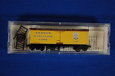 Micro-Trains 58030 Armour 36' Wood Sheathed Ice Reefer  Road #7306