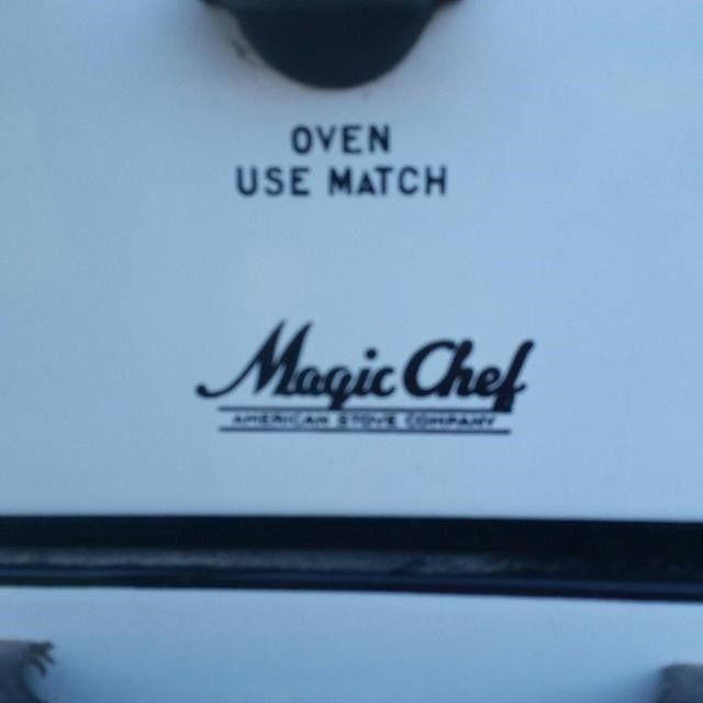 Antique Magic Chef Stove