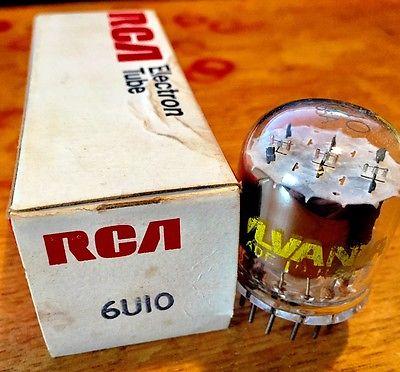 2X   6U10 NOS  Vacuum Tube,1 RCA, & 1 SYLVANIA