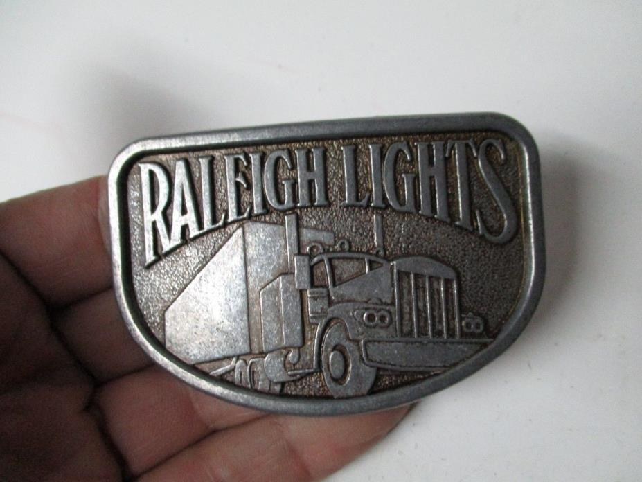 Vintage Belt Buckle - Raleigh Lights - Trucks