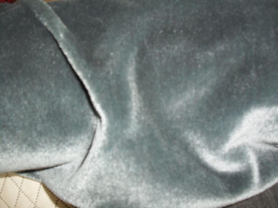 Kravet Couture Mohair Teal Blue/ Grey 1 yard