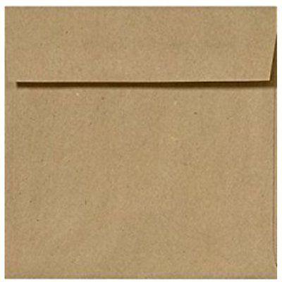 6 Greeting Card Envelopes 12 x 6 12 Square Invitation Envelopes wPeel & Press -