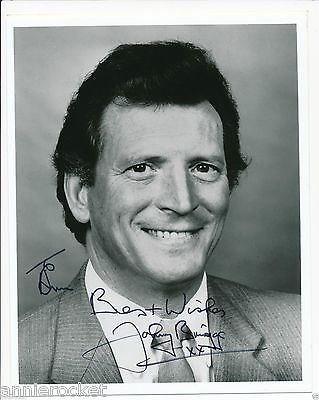 Coronation St-Johnny Briggs-Michael Baldwin-Signed 8