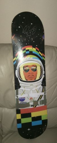 Kid Cudi Signed Skateboard Day N Nite Ultra Rare Tour Item