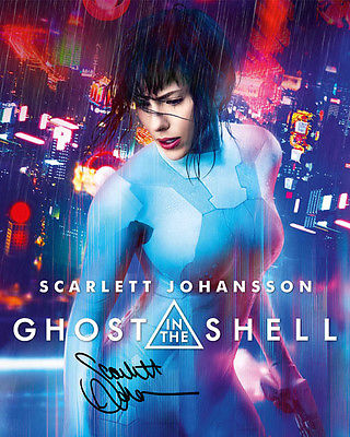 Ghost in the Shell Scarlett Johansson the Major Signed Photo Autograph Reprint