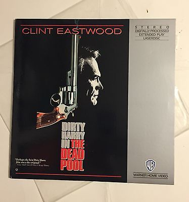 The Dead Pool Laser Disc FREE SHIPPING