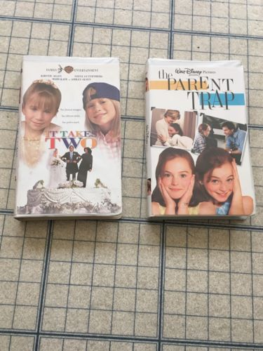 VHS The Parent Trap And It Takes Two Lot Of 2