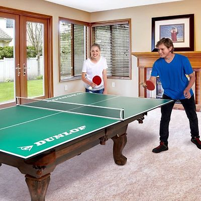 Ping Pong Table Tennis Outdoor Kids Indoor Folding 4-Piece Conversion Top Sports