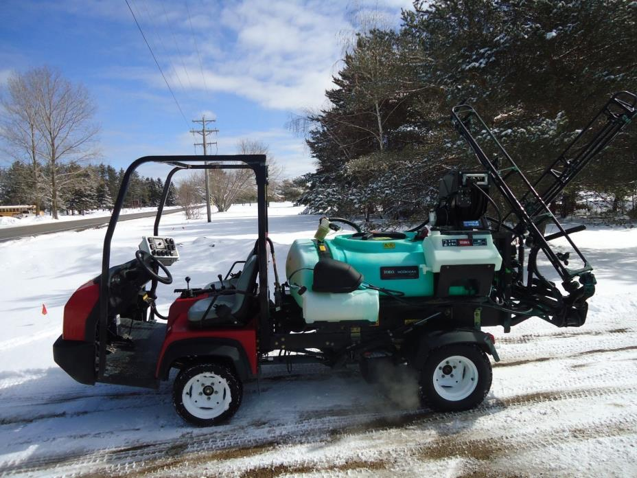 2011 Toro HDX Sprayer