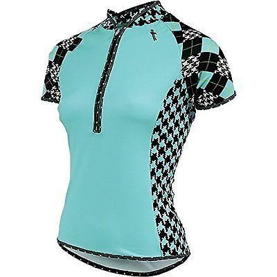 Shebeest Women's Belissima Prep School SS Cycle Jersey (Scuba, Plus Size 2X)