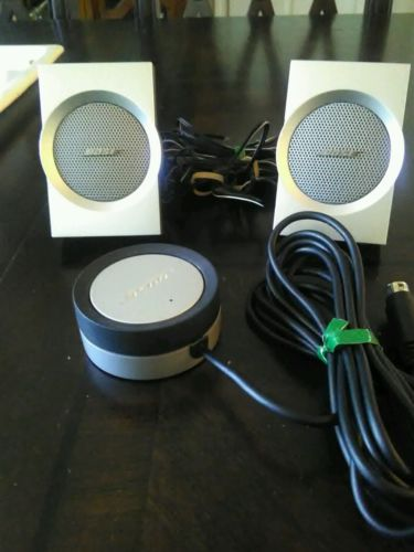 Bose Companion  Multimedia Computer  Speakers