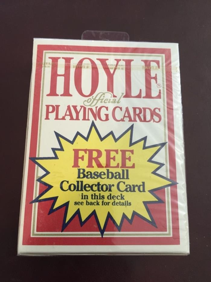 Babe Ruth Baseball Legend Collector Card Sealed Deck Hoyle Playing Card 1993 Vtg