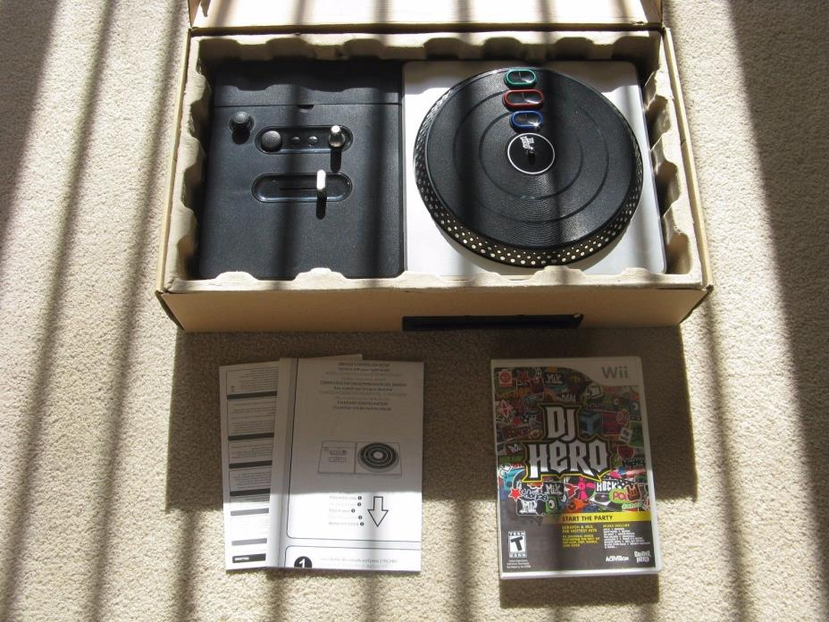 Activision DJ Hero (96127) Turntable Controller & Game