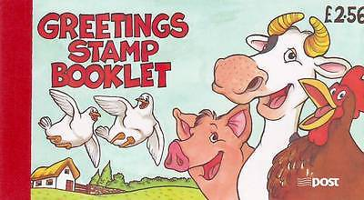 IRELAND - 1997 GREETING STAMPS BOOKLET MNH FARM ANIMALS