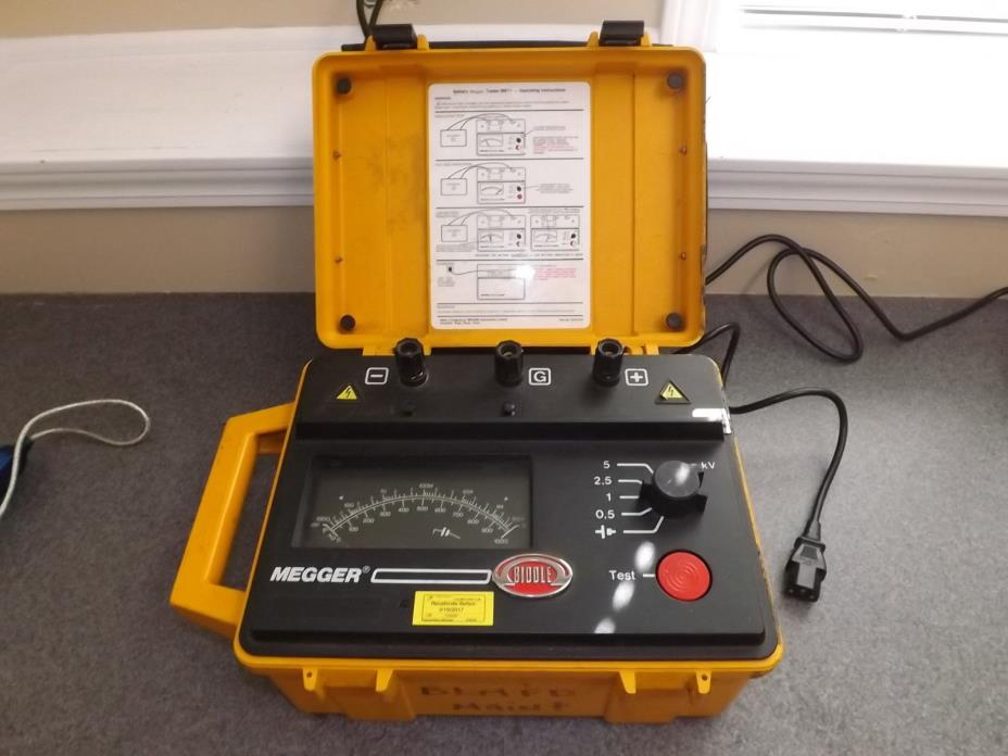 Megger Insulation Tester For Sale Classifieds