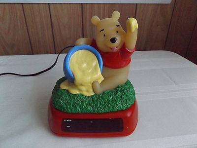 Winnie the Pooh Alarm Clock/ Night Light