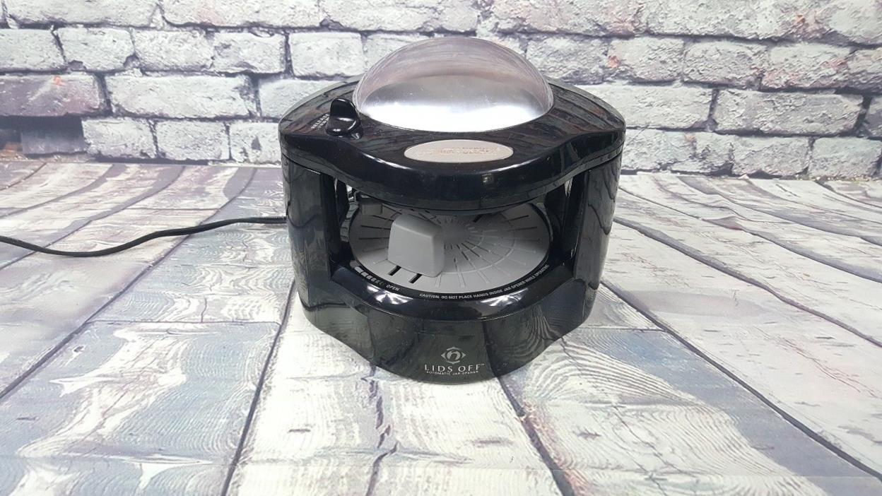 Black Decker Deluxe Lids Off JW275 Automatic Jar Opener Black JW 275