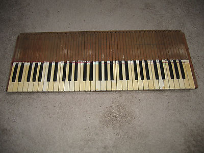 Vintage Pump Organ Keyboard