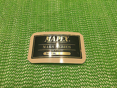 Mapex Mars Series Drum Set - Badge ( INV# 05501 )