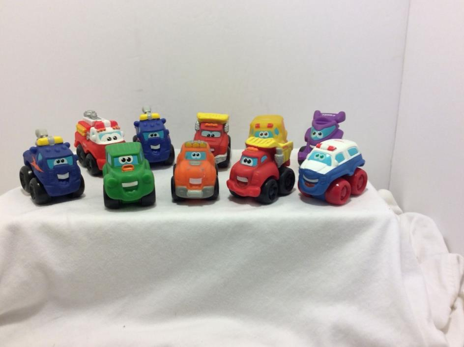 Tonka Hasbro Cars ,Lot of ten Preowned from cars movie