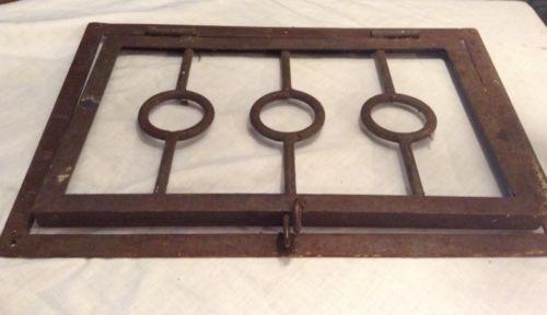 decorative iron vent covers
