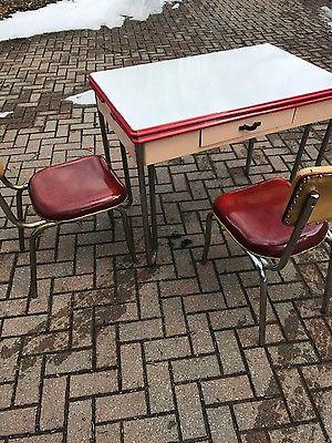 Sellers Enamel Kitchen Table Vintage/ Antique