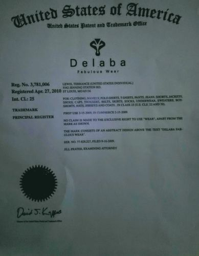 Delaba Fabulous Clothing Brand For Sale