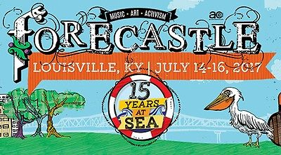 Forecastle Music Festival Tickets 2 weekend passes