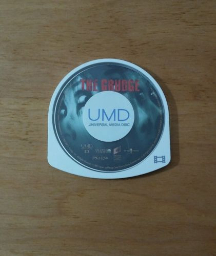 The Grudge PSP MOVIE SONY PLAYSTATION PORTABLE Disc Only Sarah Michelle Gellar