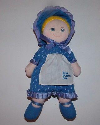 Dakin Nabisco Blue Bonnet Sue Cloth Doll 11