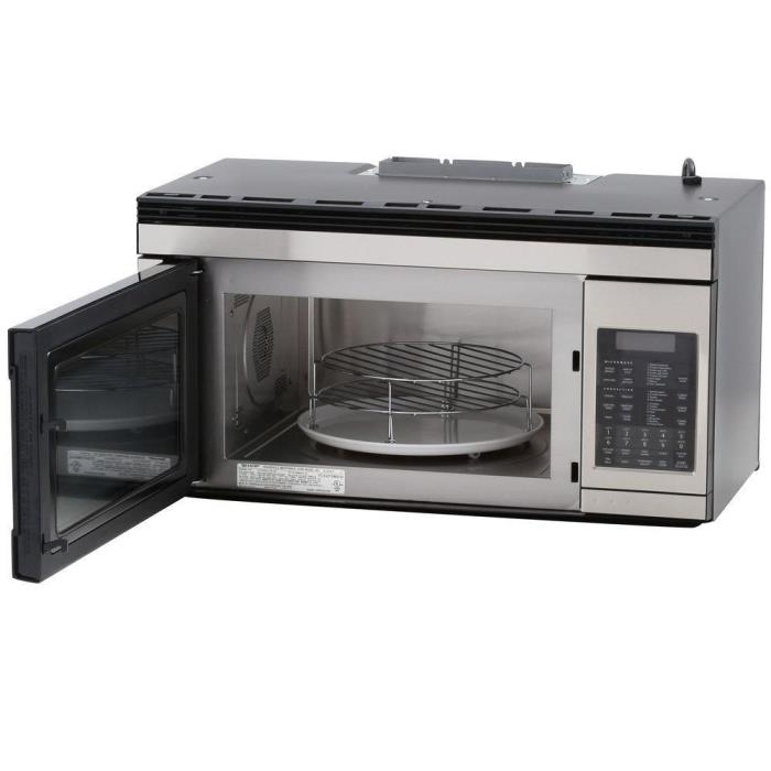 Sharp 1.1 cu. ft. Over the Range Convection Microwave Stainless Steel R1874 -498