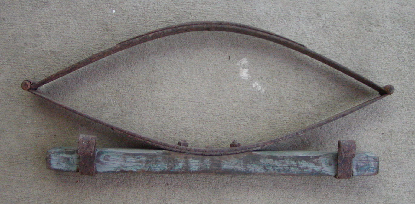 Old Seat Spring from Horse Drawn Wooden Farm Wagon