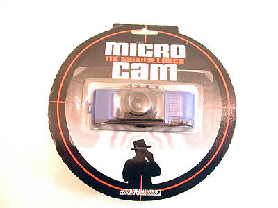 Micro 110 Surveillance Cam 110 Mini Film Camera by Accoutrements
