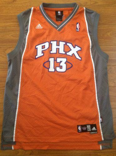 Adidas Steve Nash NBA Basketball Jersey Phoenix Suns Throwback