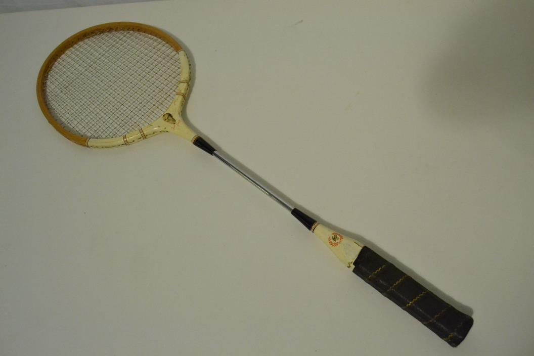 Fred Perry Vintage Antique Badminton Racquet Racket Collectible Clothing Company