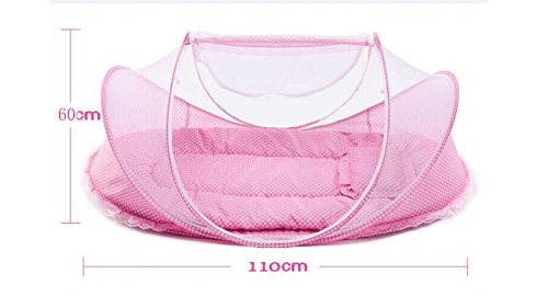 SINOTOP Baby Travel Bed Crib Mosquito Ded Portable Baby Bed Folding Baby