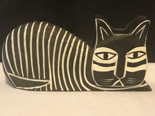 Cat Letter Holder Desk Item
