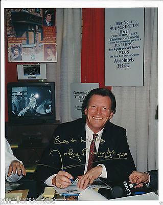 Coronation Street-Johnny Briggs-Michael Baldwin-Signed Color Photo-308-1980's