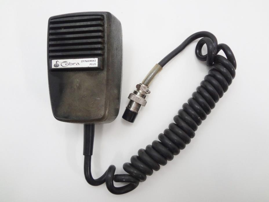 Vintage Cobra Dynamike Plus Power Mic for CB Radio