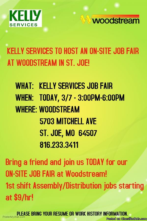 Job Fair - Distribution/Assembly