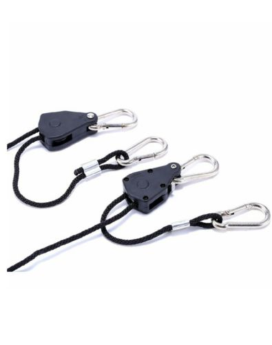 1/8 Inch Heavy Duty Adjustable Grow Light Rope Clip Hanger