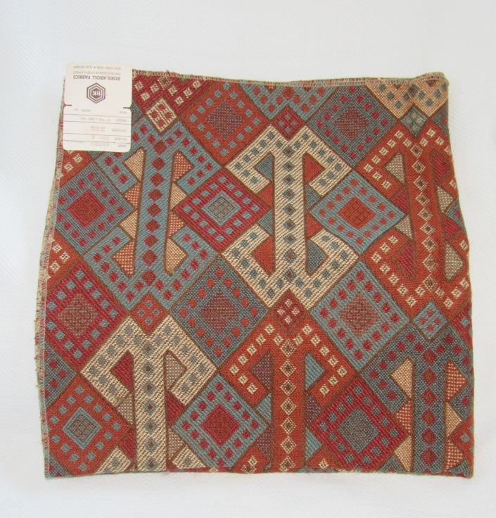 New VTG 60s 70s Mid Century Mod Op Art BORIS KROLL Fabric Panel